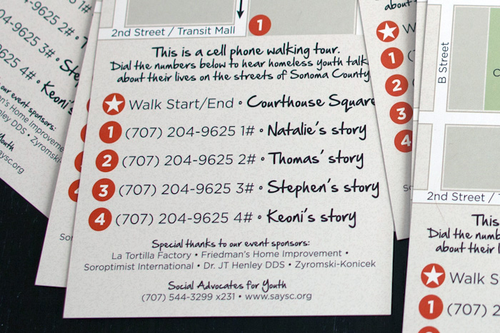 Youth Homelessness Walking Tour